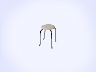 Static Paint Tulip Stool-2