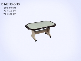 Wheel Polyester Table